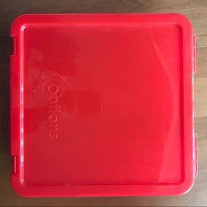 2-for-$20 Creative Options Red Paper Container